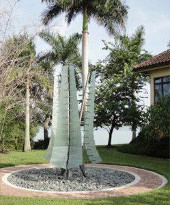 Sculpture: Glass Fronds